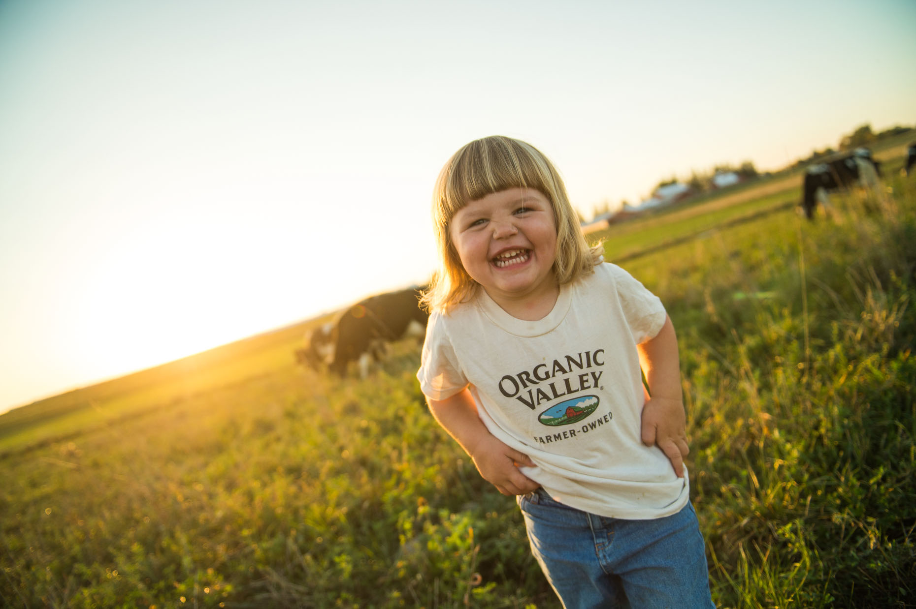 Organic Farmer farm kid